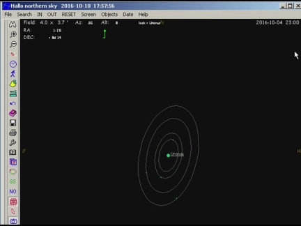 Uranus Monde Animation