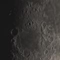 """Mond in der Abenddämmerung -- Mond in der Abenddämmerung mit 7800mm am 5"""" EDAPO 3000 Frames / 50% und Seeing Monitor. Seeing am Abend lag bei 2 bis 3"""