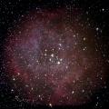Rosettennebel -- Rosettennebel Aufnahmegerät: MK69 + Canon 6D  Belichtung: 10 x 90 sec. + 6 x 330 sec. bei 1600 iso + Darks Bildbearbeitung: Fitswork