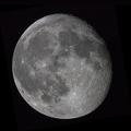 Abnehmender noch fast voller Mond -- Aufnahme am ersten Weihnachtsfeiertag 2018  (00:25 Uhr), von Neu-Moresnet aus (Sternwarte K85). Kaltes klares Wetter mit gutem Seeing. Komposit aus zwei Einzelfotos (Nord- und Südhemisphäre). Celestron C8 Edge-HD plus Canon 70D auf 10micron GM1000 HPS. Iso 200, 1/400 sec.