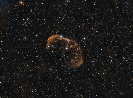 NGC 6888 Crescent Nebel