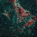 NGC 6979 -- Teilbereich des Cirrusnebels. Belichtung: 120 Min. ASA 12″- f:3,6 – QHY268C – EQ8 – MGEN III – Bildbearbeitung mit Pi & LR