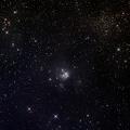 IC 5134 -- Die Aufnahme besteht aus einer Gesamtbelichtung von 220 Minuten | 25.09.2012 Das technische Equipment für die Aufnahmen bestand aus: ASA 12″- f:3,6 – QHY268C – EQ8 – MGEN III – Bildbearbeitung mit Pi & LR